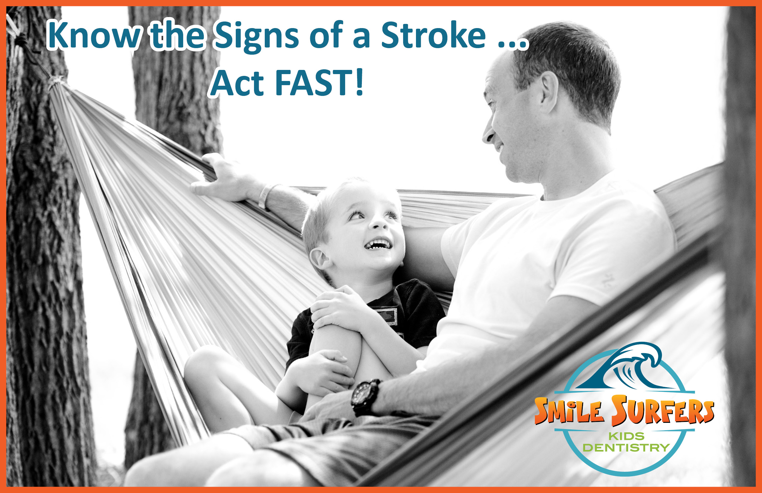 Know the signs of a stroke.
