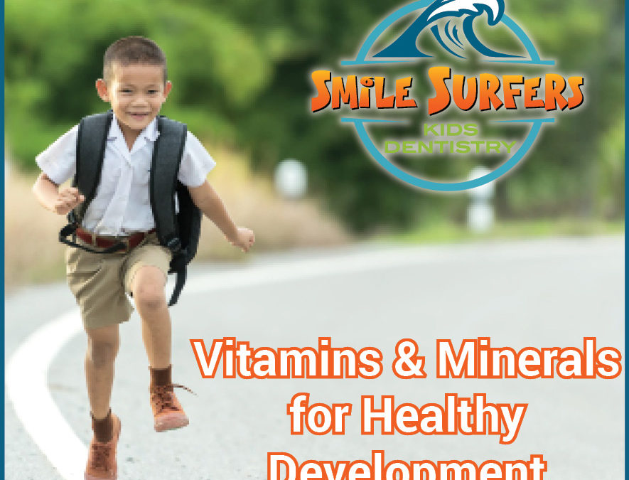 Vitamins vs. Minerals and What Kids Need