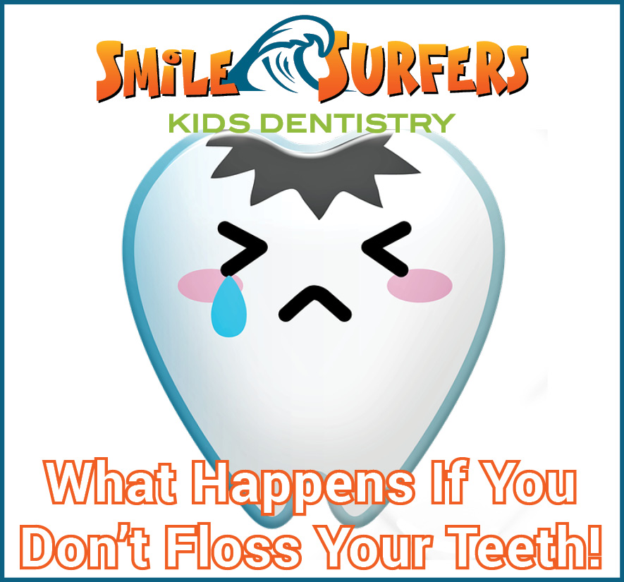 Flossing your teeth is as important as brushing them.